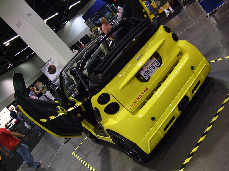 Insane Smart car