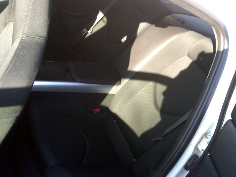 Mazda RX-8 Back Seats